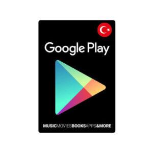 گیفت کارت 25 لیر گوگل پلی ترکیه