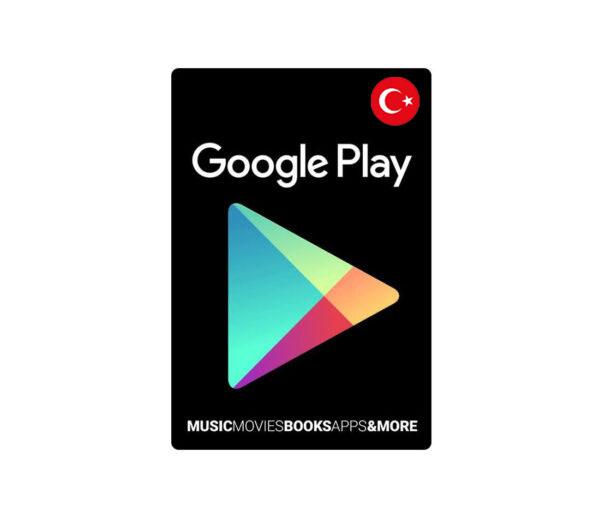 گیفت کارت 100 لیر گوگل پلی ترکیه