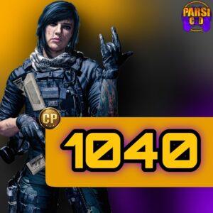 1040 سی پی کالاف دیوتی موبایل